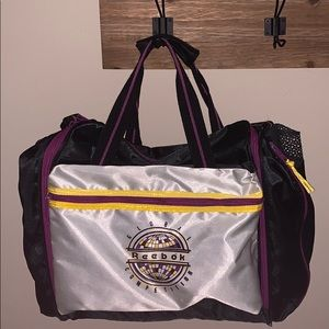 Vintage Reebok Global Competition Duffel Bag